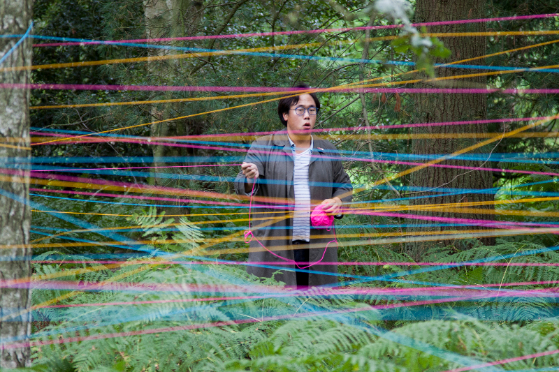 Chung Hyon Kim - photograph by Florian Herzberg