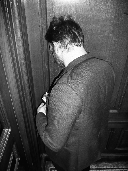 Jack Catling - photograph by Anthony Bradbury
